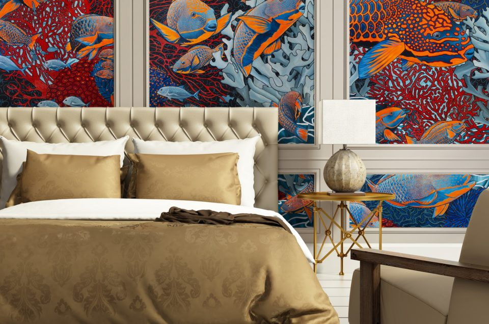 CP | Le papier peint de luxe de Maison Fétiche