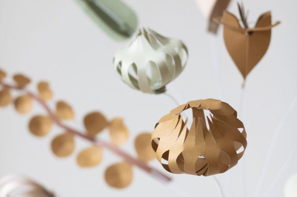 CP| Le bouquet de fleurs en papier DIY