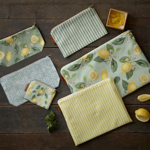 Tekstiler citron web