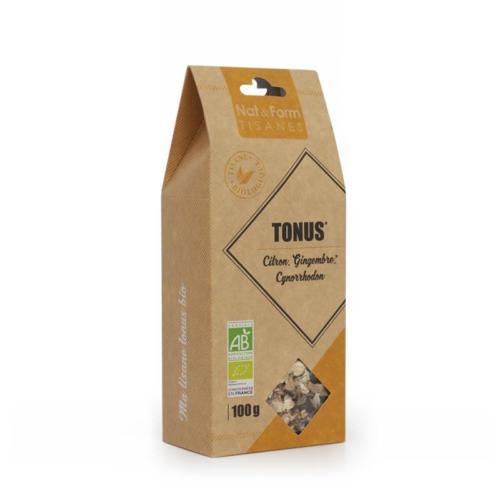 Tisane tonus Gingembre - Citron (1)